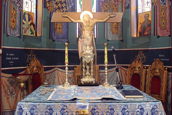 Holy Sanctum interior St. Nicholaos Cardiff