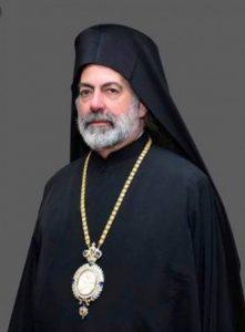 Greek Orthodox Archbishop of UK Nikitas